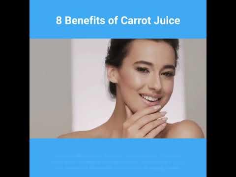 8 Benefits Of Carrot Juice-Health Drinks
