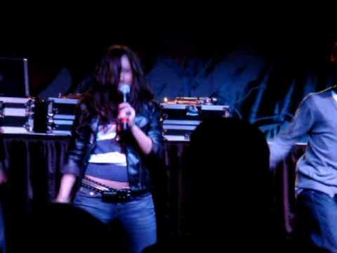 Kristina Debarge performs SABoTAGE