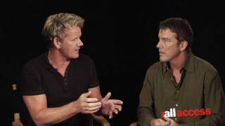 CHEF GORDON RAMSAY COOKS IT UP WITH FOX ALL ACCESS