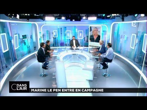 Marine Le Pen entre en campagne #cdanslair 03-09-2016