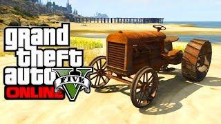 "GTA 5 Online: Secret Cars ""Rusty Tractor"" (GTA V)"