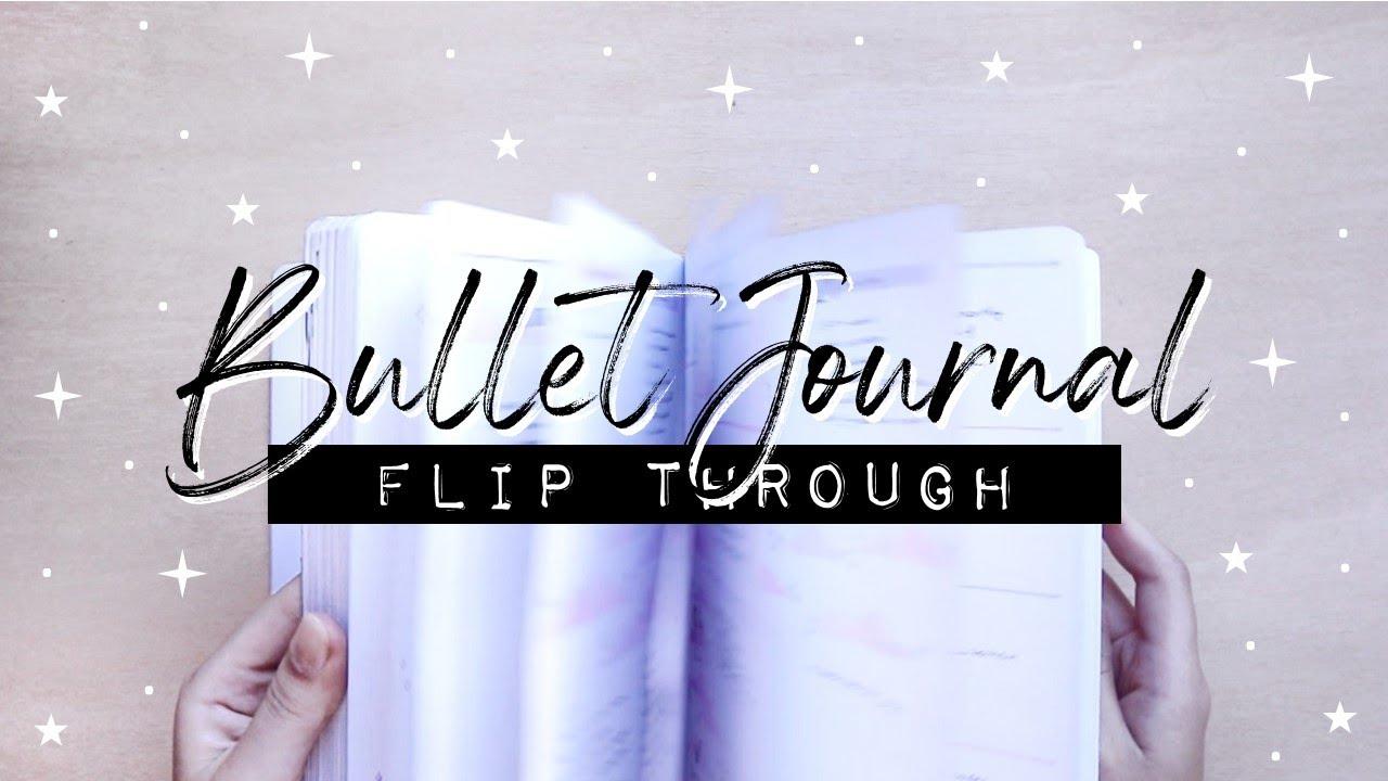 2020 Bullet Journal Flip Through   January - June
