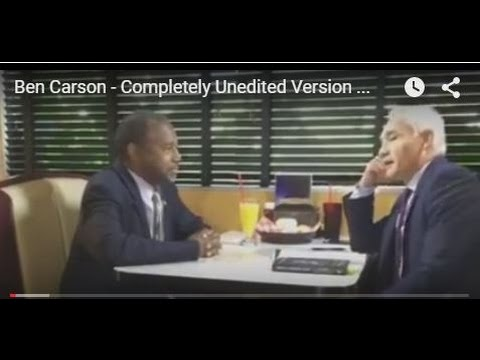 Ben Carson - Completely Unedited Version of Interview with Jorge Ramos