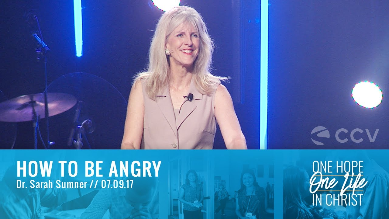 How To Be Angry | Dr. Sarah Sumner