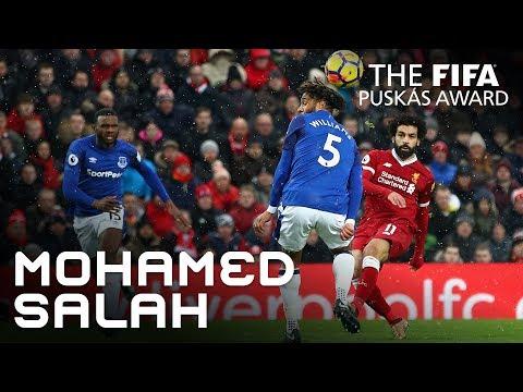El gol de Salah se lleva el premio Puskas de la Fifa