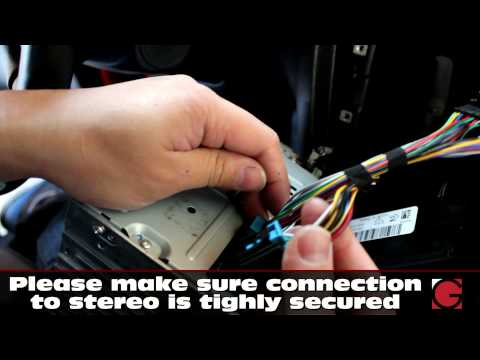 Chevrolet Impala GROM USB, Android, Bluetooth & iPhone Car Kit install, radio removal guide