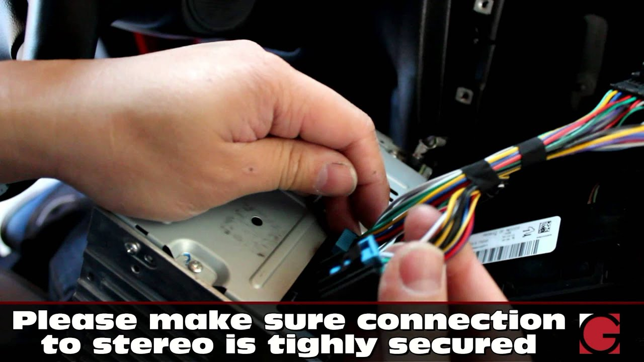 chevrolet impala grom usb android bluetooth u0026 iphone car kit iphone car wiring harness  [ 1280 x 720 Pixel ]