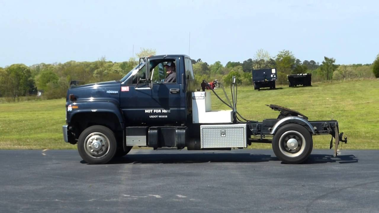Chevy Kodiak 5500 Diesel Truck - Tag# 53605 - YouTube
