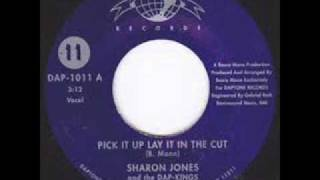 "Sharon Jones And The Dap Kings ""Pick It Up, Lay It In The Cut"""
