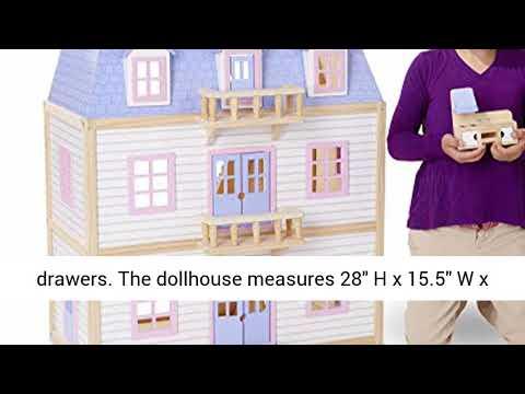 Melissa Doug Multi Level Dollhouse Review