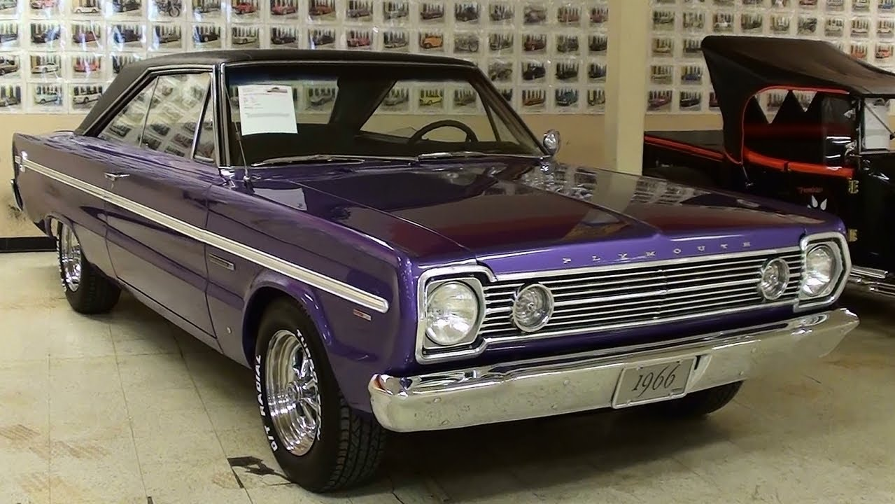 1966 Plymouth Belvedere Ii 383 V8 Mopar Muscle Car Youtube