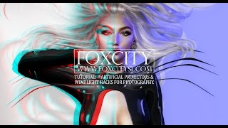 Foxcity・SL | A beginner's guide to 'artificial' light setup for Second Life portrait photography