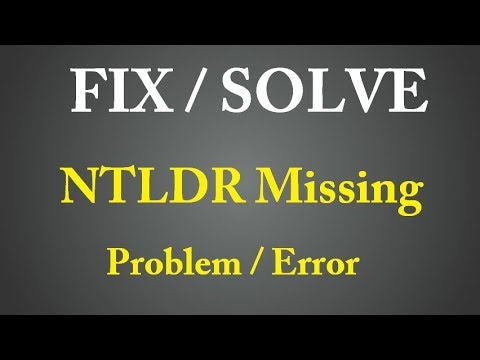 Your Computer having Problem ( ntldr missing ) ? Solve today Yourself