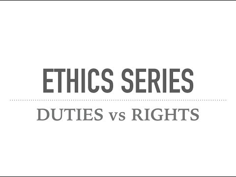 ETHICS SERIES for UPSC Mains || Civil services || IAS  - Duties vs Rights