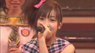 AKB48のファーストコンサート 「会いたかった~柱はないぜ!~」(日本青年館) MCメンバー紹介③ (13~18まで) 1)増田有華 2)河西智美...