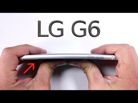 Thumbnail: LG G6 Durability Test - Scratch BURN and BEND tested!!