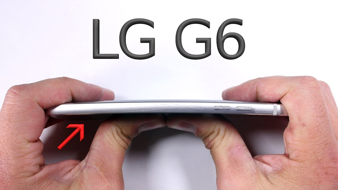 The LG G6 Is a Tank in JerryRigEverything's Scratch, Burn