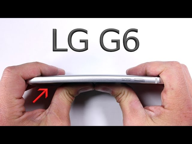 The LG G6 is crazy durable | TechnoBuffalo