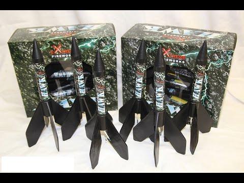 Hawk Missile - Extreme fireworks