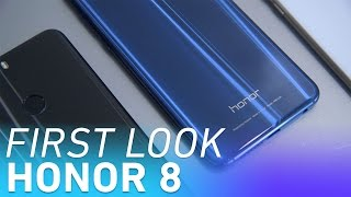 Huawei's Honor 8 smartphone first look