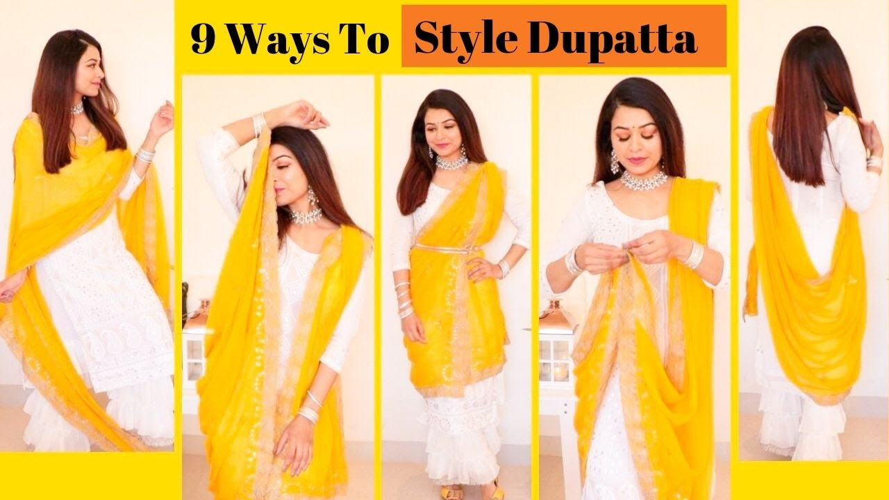 MUST Try Dupatta Styles | How to Style Dupatta with Punjabi Suits| gulz_Beauty