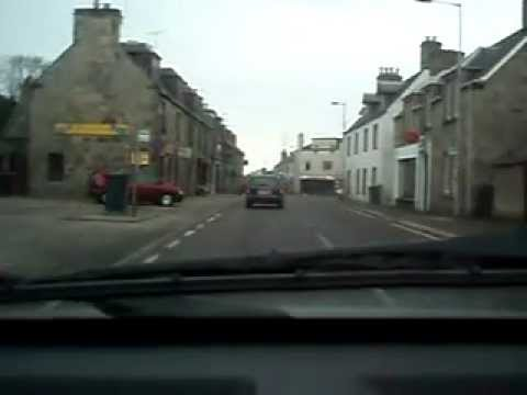 Driving Through Brora