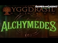 "New online casino slot ""Alchymedes "" (review)"