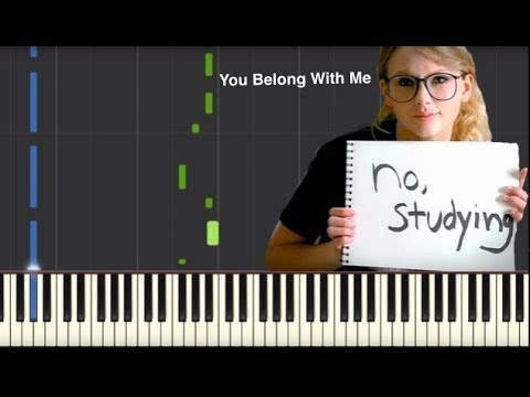 You Belong With Me - Taylor Swift - Piano Tutorial