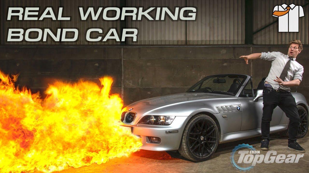 EPIC HOMEMADE James Bond Car
