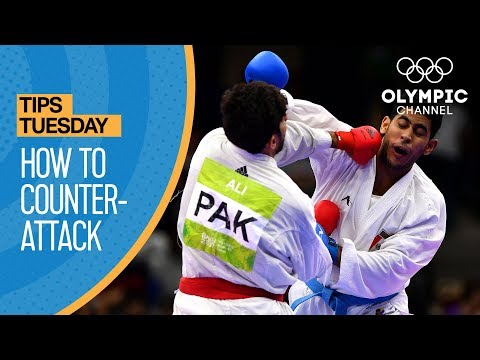 How to Counter-Attack your opponent in Karate | Olympians' Tips