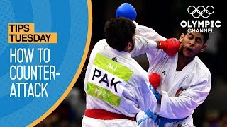 How to Counter-Attack your opponent in Karate | Olympians