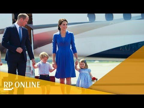 Deutschland-Besuch: Prinz William und Herzogin Kate in Berlin gelandet