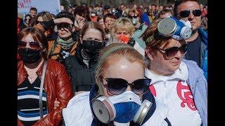 Митинг в Волоколамске против полигона «Ядрово»