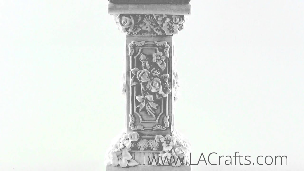 Close up detail of special design pillar 2 from lacrafts com
