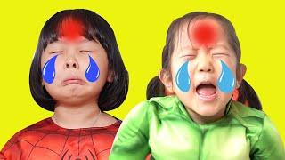 Boo Boo Song with Avengers Superhero Nursery Rhymes & Story for Kids 어벤져스 어린이 부부송 JOYJOY KIDZ