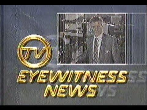 Brisbane Australia Television Channel TV0 1988 Analoge Interfere