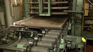 建材の生産工程(含侵, プレス)での排熱活用