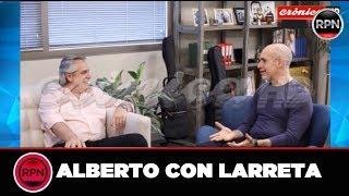 *URGENTE* Alberto Fernandez se juntó con Larrreta y mirá lo que le dijo
