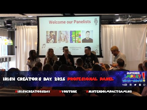 Irish Creators Day 2016 Professional Panel