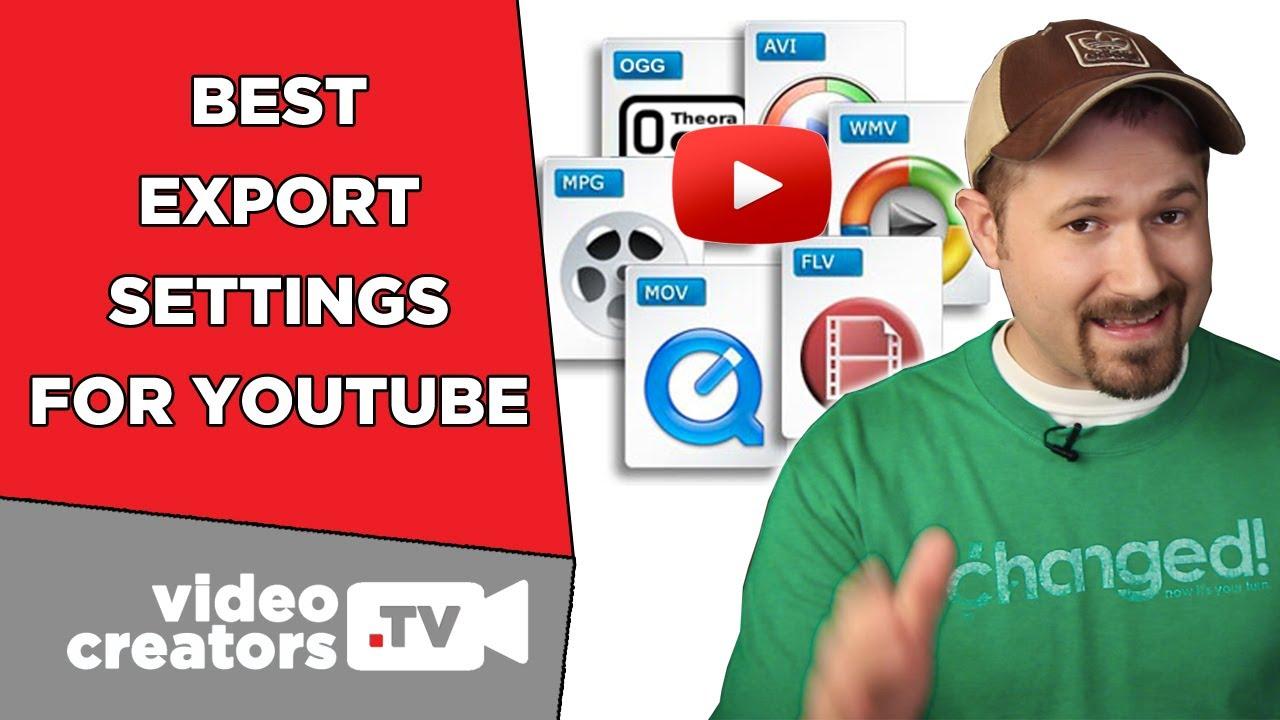 Format video untuk upload youtube