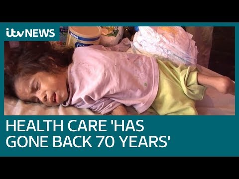 Venezuela turmoil puts health care 'back 70 years' | ITV News
