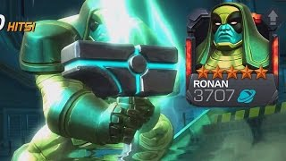 5 STAR RONAN REVIEW | MARVEL: Contest of Champions (iOS/Android)