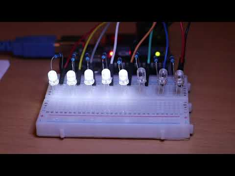 Binary Arithmetic And Port Manipulation On Arduino