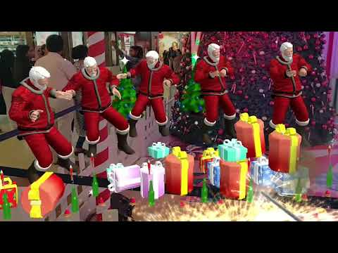 Celebrate Christmas ?? with Augmented Reality Santa Claus