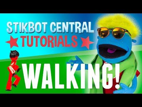 Stikbot Tutorials 📚 | Walking!
