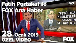 Özhaseki'den dikkat çeken Fetö çıkışı... 28 Ocak 2019 Fatih Portakal ile FOX Ana Haber