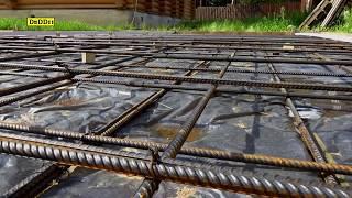 Фундамент под забор и плита под стоянку автомобиля - все этапы работ. №34(, 2016-06-14T14:06:53.000Z)