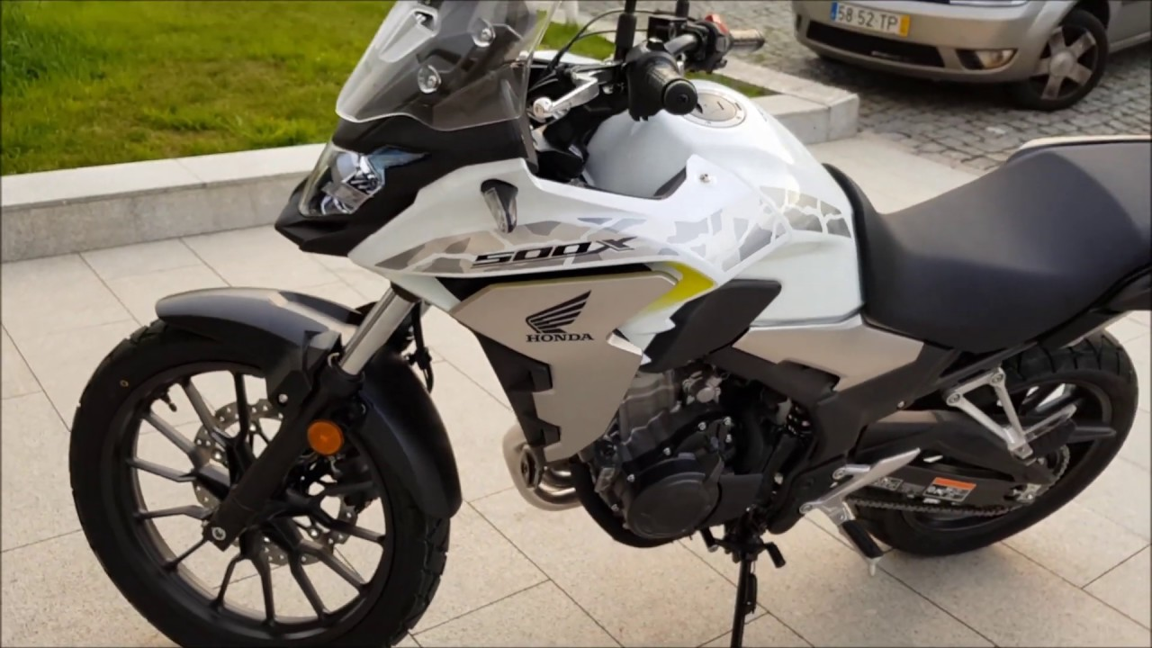 Honda Cb 500x New Model Youtube