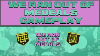 DESTINY - WE RAN OUT OF MEDALS & PHANTOM GAMEPLAY (Boolean Gemini)