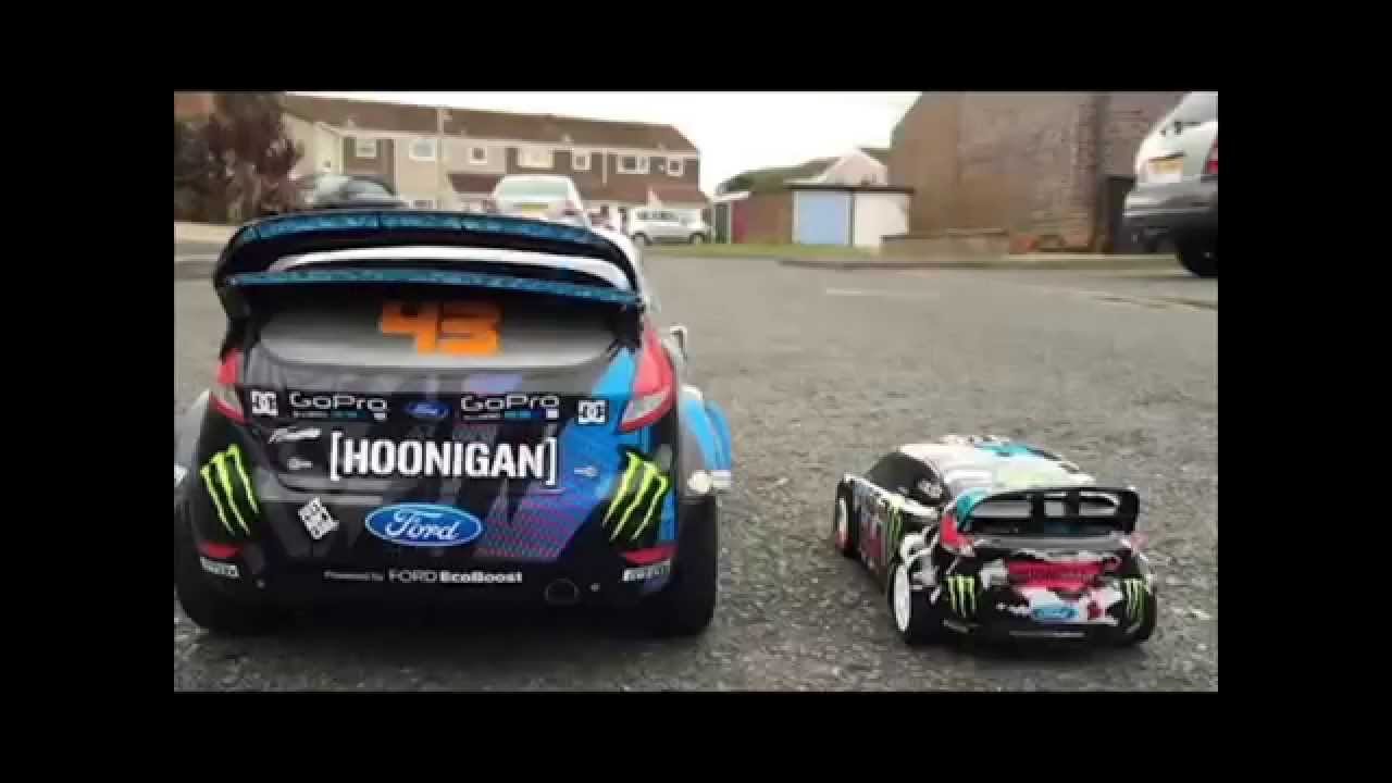 ken block 39 s ford fiesta st rx43 rc replica specs and run. Black Bedroom Furniture Sets. Home Design Ideas